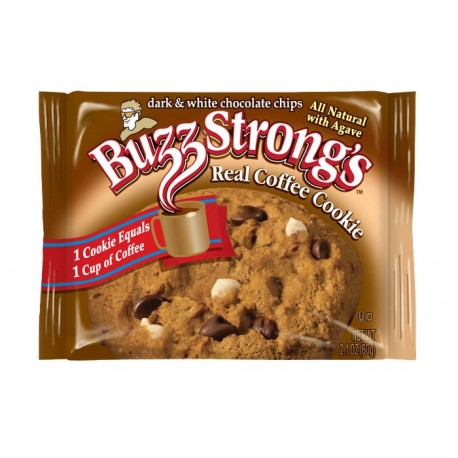 Buzz Strong's Cookies-Real Coffee Cookie