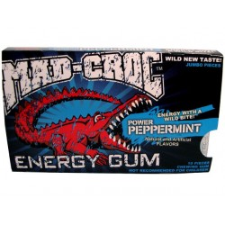 Mad Croc Energy Gum - Peppermint