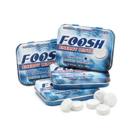Foosh Energy Mints Tin