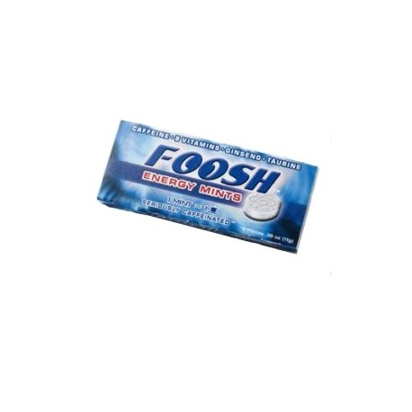 Foosh Energy Mints Blister Pack